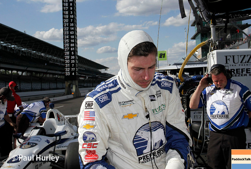 May 16-20: JR Hildebrand during practice for the 100th running of the Indianapolis 500.