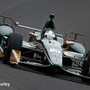 May 16-20: Ed Carpenter during practice for the 100th running of the Indianapolis 500.