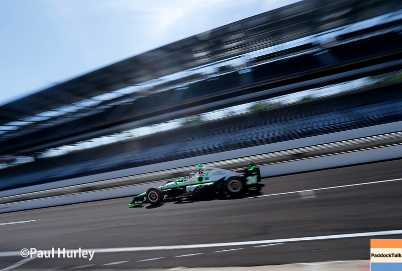 May 16-20: Sage Karam during practice for the 100th running of the Indianapolis 500.