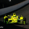 May 16-20: Simon Pagenaud during practice for the 100th running of the Indianapolis 500.