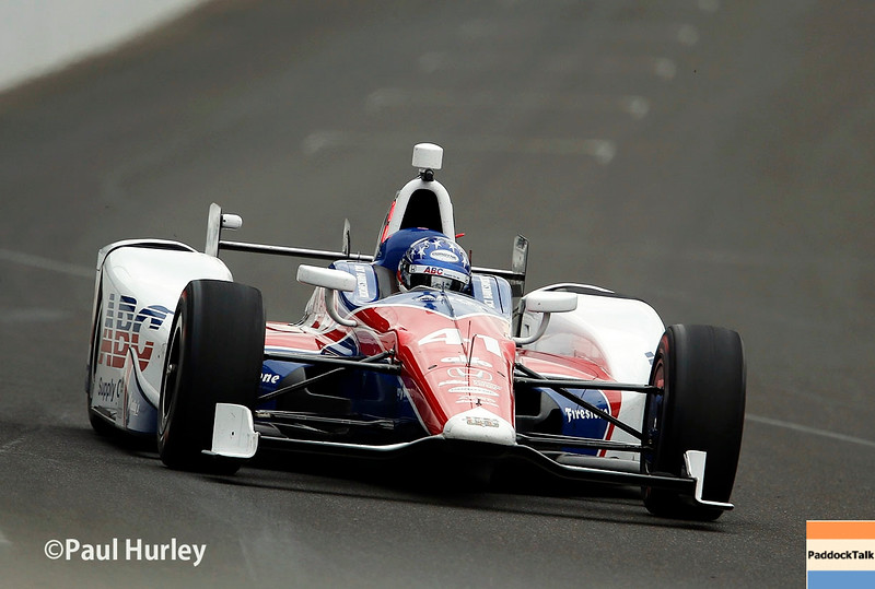May 16-20: Jack Hawksworth during practice for the 100th running of the Indianapolis 500.