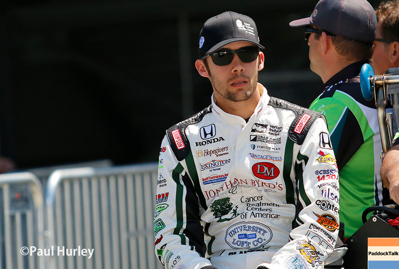 May 21-22: Bryan Clauson during qualifications for the 100th running of the Indianapolis 500.