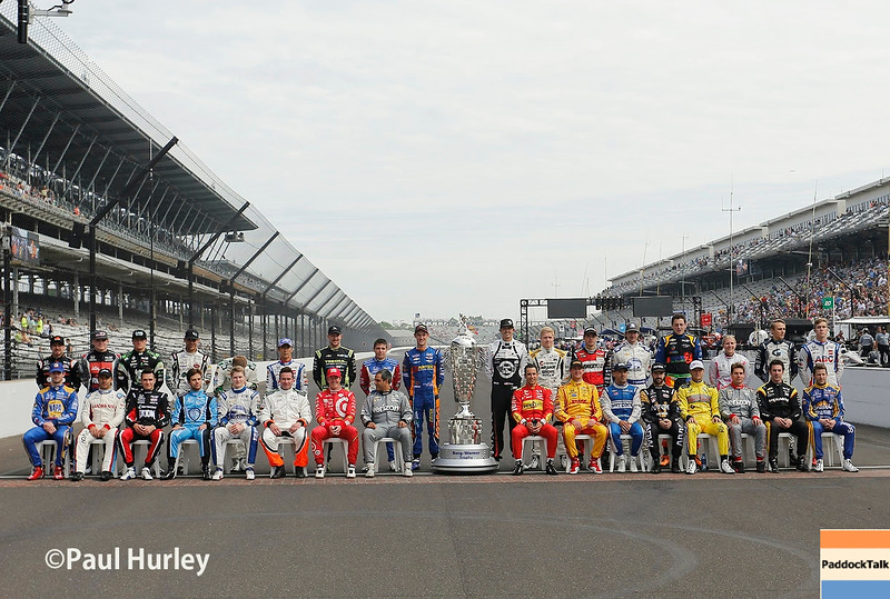 May 27: Driver photo during Carb Day for the 100th Running of the Indianapolis 500.