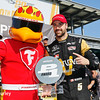 May 21-22:  James Hinchcliffe and the Firehawk during qualifications for the 100th running of the Indianapolis 500.