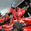 May 21-22:  Scott Dixon during qualifications for the 100th running of the Indianapolis 500.