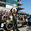 May 21-22: James Hinchcliffe during qualifications for the 100th running of the Indianapolis 500.