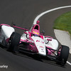 May 21-22:  Pippa Mann during qualifications for the 100th running of the Indianapolis 500.