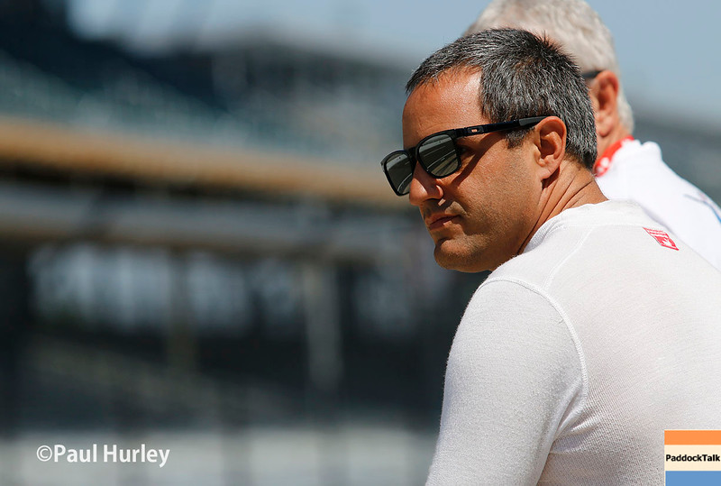 May 21-22: Juan Pablo during qualifications for the 100th running of the Indianapolis 500.