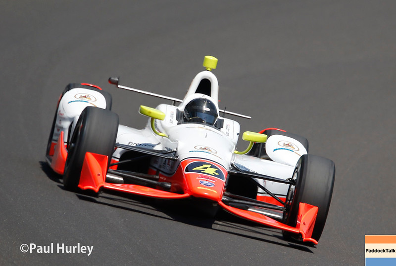 May 21-22:  Buddy Lazier during qualifications for the 100th running of the Indianapolis 500.