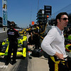 May 21-22: Simon Pagenaud during qualifications for the 100th running of the Indianapolis 500.