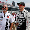 May 21-22:  Bobby Rahal and Graham Rahal during qualifications for the 100th running of the Indianapolis 500.