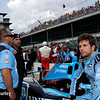May 21-22:  Carlos Munoz during qualifications for the 100th running of the Indianapolis 500.