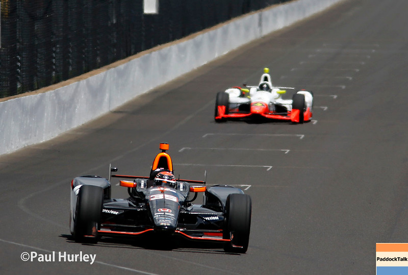 May 21-22:  Track action during qualifications for the 100th running of the Indianapolis 500.