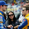 May 21-22:  Alexander Rossi and Marco Andretti during qualifications for the 100th running of the Indianapolis 500.