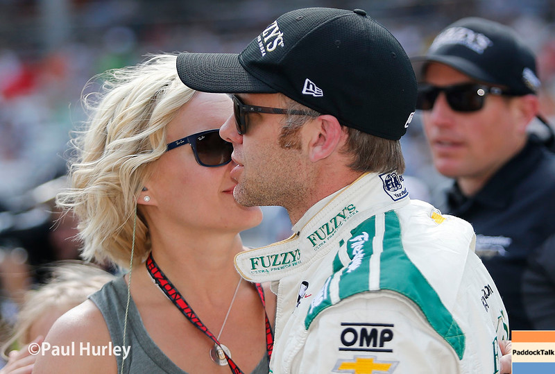 May 21-22: Ed Carpenter during qualifications for the 100th running of the Indianapolis 500.