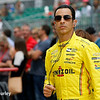 May 21-22:  Helio Castroneves during qualifications for the 100th running of the Indianapolis 500.