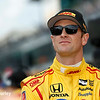 May 21-22:  Ryan Hunter-Reay during qualifications for the 100th running of the Indianapolis 500.