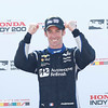 July 30-31:  Simon Pagenaud after winning The Honda Indy 200 at Mid-Ohio.
