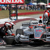 July 30-31:  Will Power during The Honda Indy 200 at Mid-Ohio.