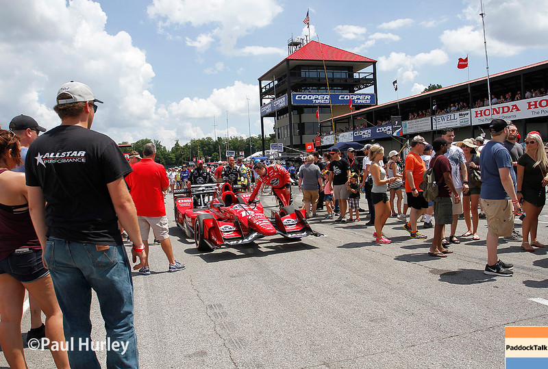 July 30-31:  Pre-race activities before The Honda Indy 200 at Mid-Ohio.