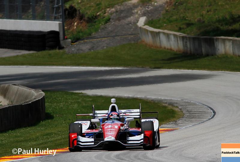 June 24-26: Jack Hawksworth during the Verizon IndyCar Series Kohler Grand Prix at Road America.