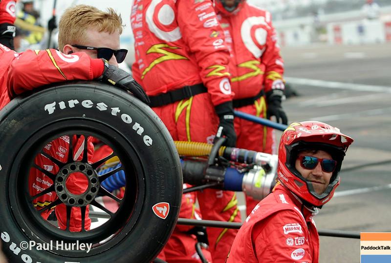 March 11-13:  Scott Dixon's crew at the Firestone Grand Prix of St. Petersburg.