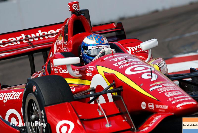 March 11-13:  Scott Dixon at the Firestone Grand Prix of St. Petersburg.