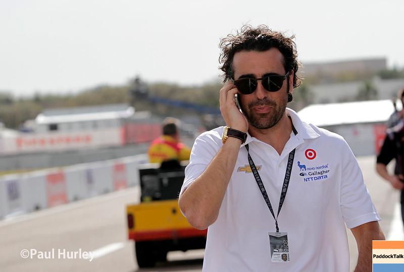 March 11-13:  Dario Franchitti at the Firestone Grand Prix of St. Petersburg.