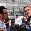 March 11-13:  Dario Franchitti and Max Chilton at the Firestone Grand Prix of St. Petersburg.