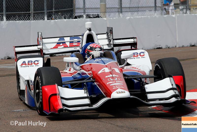 March 11-13:  Jack Hawksworth at the Firestone Grand Prix of St. Petersburg.