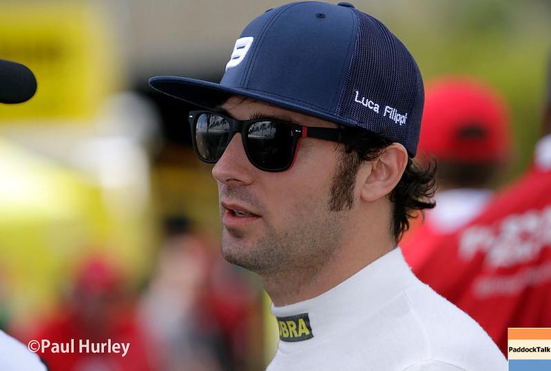 March 11-13:  Luca Filippi at the Firestone Grand Prix of St. Petersburg.