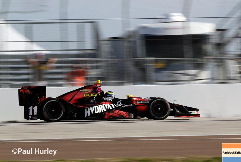 March 11-13:  Sebastien Bourdais at the Firestone Grand Prix of St. Petersburg.