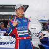 June 3-4: Takuma Sato wins the pole at the Chevrolet Detroit Grand Prix Presented by Lear.