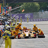 June 3-4: Ryan Hunter-Reay pit stop at the Chevrolet Detroit Grand Prix Presented by Lear.