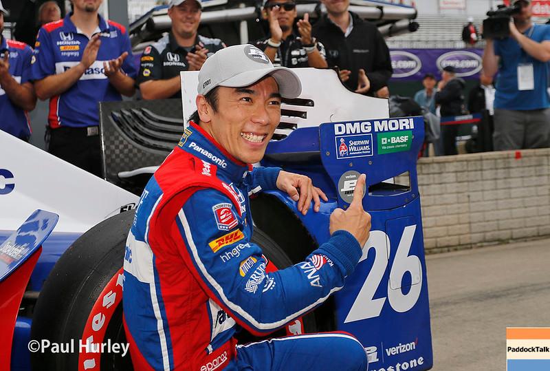 June 3-4: Takuma Sato at the Chevrolet Detroit Grand Prix Presented by Lear.