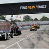 June 3-4:  Pit lane at the Chevrolet Detroit Grand Prix Presented by Lear.