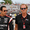June 3-4: Helio Castroneves and Arie Luyendyk at the Chevrolet Detroit Grand Prix Presented by Lear.