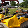 June 3-4:  James Hinchcliffe's car at the Chevrolet Detroit Grand Prix Presented by Lear.