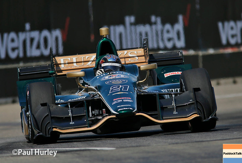 June 3-4: JR Hildebrand at the Chevrolet Detroit Grand Prix Presented by Lear.