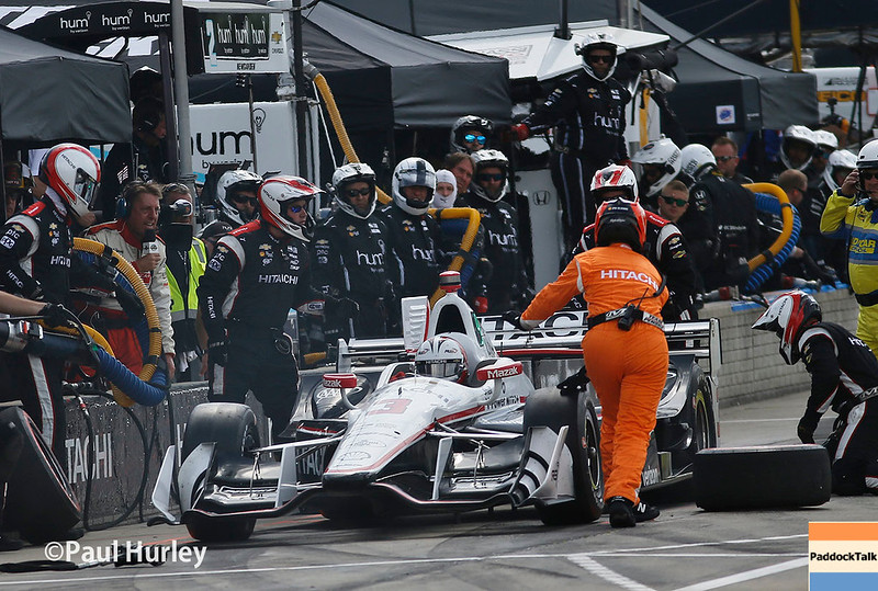 June 3-4:  Helio Castroneves at the Chevrolet Detroit Grand Prix Presented by Lear.