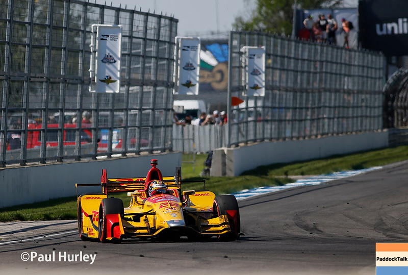May 12-13: Ryan Hunter-Reay at the Grand Prix of Indianapolis.