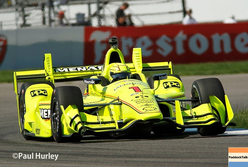 May 12-13: Simon Pagenaud at the Grand Prix of Indianapolis.