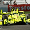 May 12-13: Simon Pagenaud at the Grand Prix of Indianapolis.