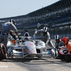 May 12-13: Helio Castroneves at the Grand Prix of Indianapolis.