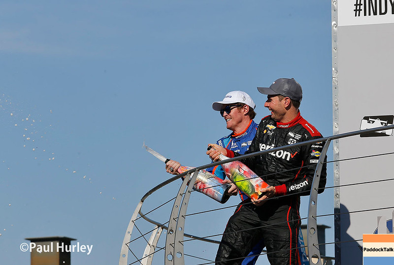 May 12-13: Scott Dixon and Will Power at the Grand Prix of Indianapolis.
