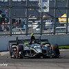 May 12-13: Juan Pablo Montoya at the Grand Prix of Indianapolis.