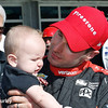 May 12-13: Will Power and son, Beau, at the Grand Prix of Indianapolis.