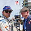 May 12-13: Conor Day and father, Derek Daly, at the Grand Prix of Indianapolis.