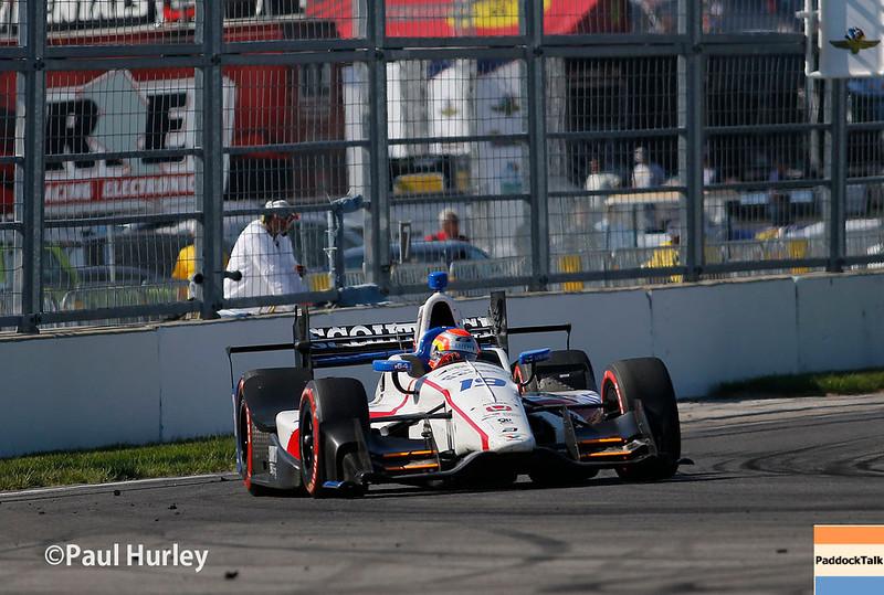 May 12-13: Ed Jones at the Grand Prix of Indianapolis.