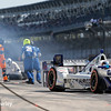 May 12-13: Pit action at the Grand Prix of Indianapolis.